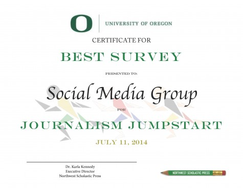 Best Survey Award