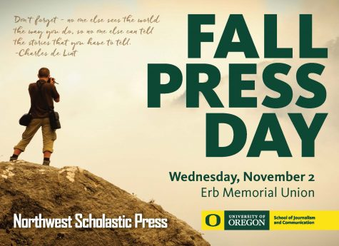 Fall Press Day returns to first Wednesday in November at UO