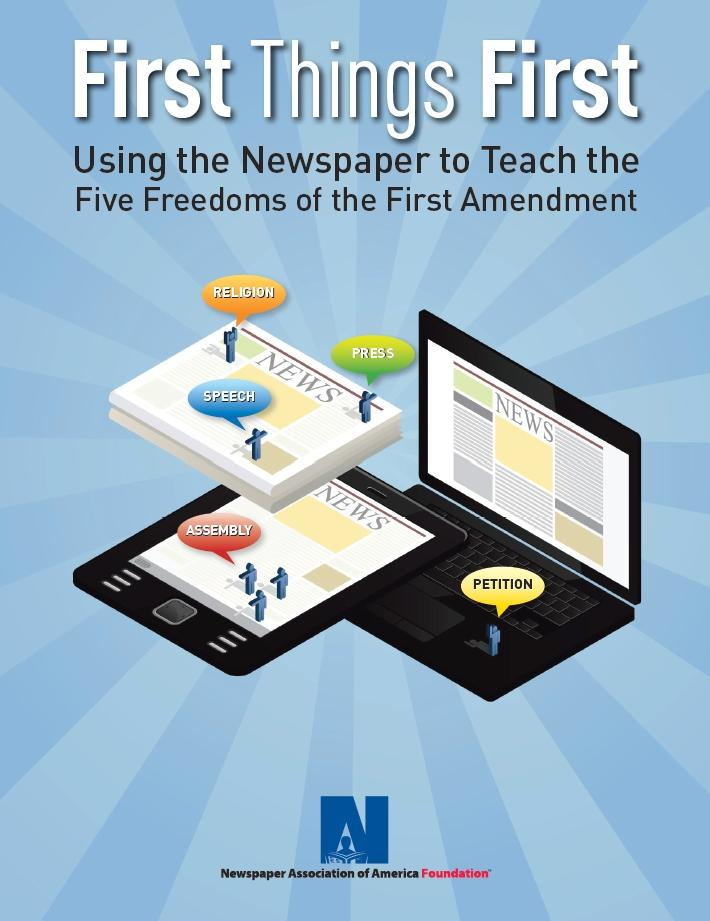 First Things First: Using the newspaper to teach the Five Freedoms of the First Amendment
