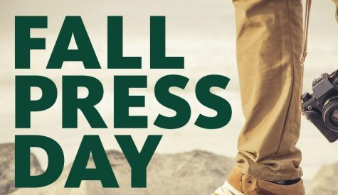 IT'S A NEW DAY! Fall Press Day set for Saturday Oct. 24 at UO in Eugene